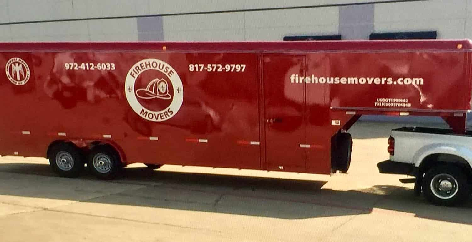 Firehouse Movers in Plano Texas