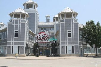 Dr. Pepper Ballpark in Frisco Texas