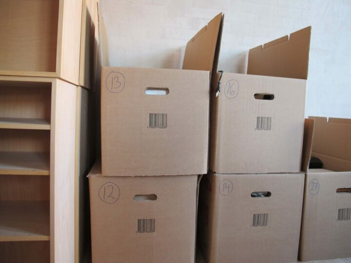 Boxes used by Moving service in Frisco, Tx