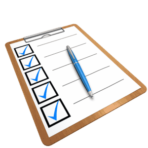 Avoid Leaving Things Behind with a checklist