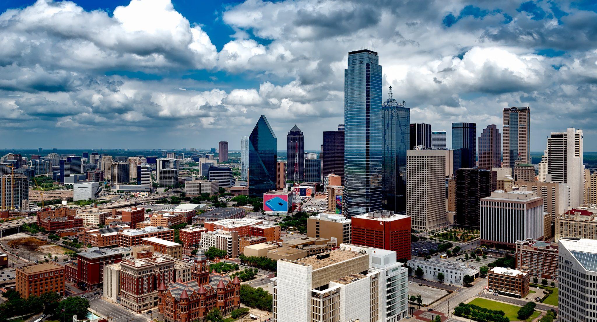 Skyline Cityscape of Dallas, Texas