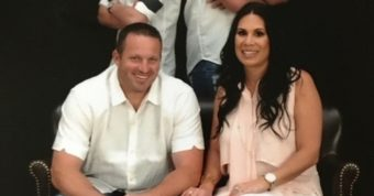 Nikki Purcell With Her Husband Brian Purcell