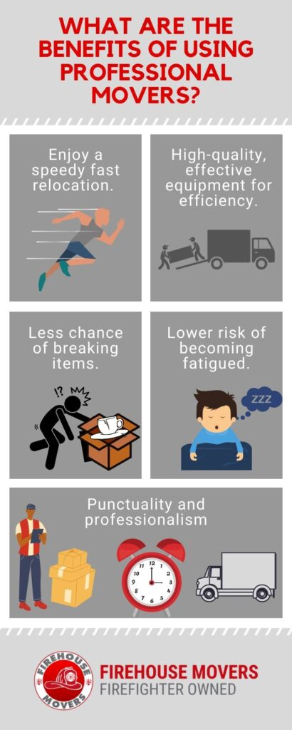 infographic - what are the benefits of using professional movers
