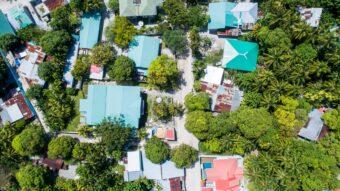 Aerial View of Richardson Neighborhood