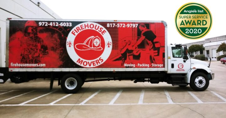 Firehouse Movers Angie's List Award
