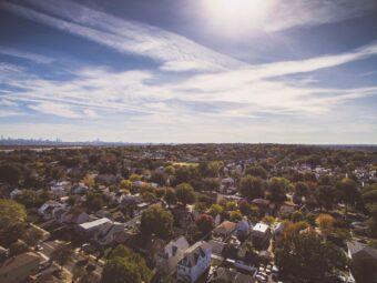 Aerial View of McKinney, Texas Neighborhood